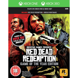 Xbox 360 Red Dead Redemption Game Of The Year Edition (GOTY) [Nieuw]