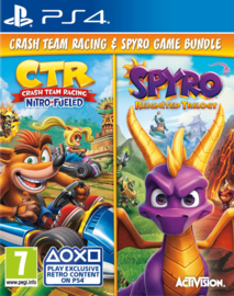 Ps4 Crash Team Racing Nitro Fueled + Spyro Reignited Trilogy [Nieuw]