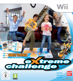 Wii Family Trainer Extreme Challenge (Game+Mat)