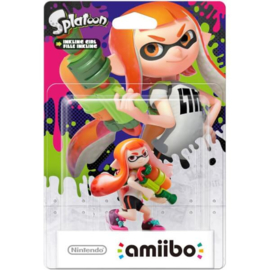 Amiibo Inkling Girl - Splatoon Collection [Nieuw]