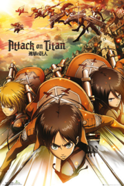 Attack On Titan Poster (40x50cm)