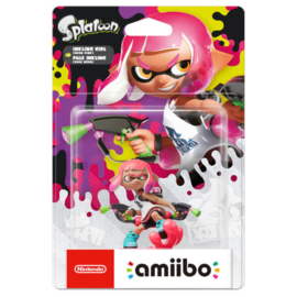 Amiibo Inkling Girl Neon Pink - Splatoon Collection [Nieuw]