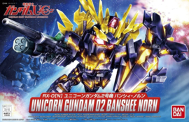 Gundam Model Kit SD Unicorn Gundam 02 Banshee Norn - Bandai [Nieuw]