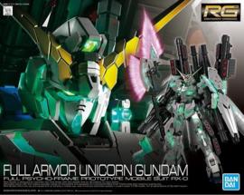 Gundam Model Kit RG 1/144 Full Armor Unicorn Gundam - Bandai [Nieuw]