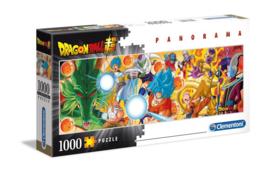 Dragonball Super Puzzle Panorama Characters (1000 Stukjes) - Clementoni [Nieuw]
