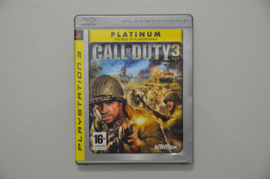 Ps3 Call of Duty 3 (Platinum)