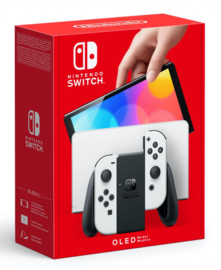 Nintendo Switch OLED Console White [Pre-Order]
