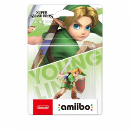 Amiibo Young Link The Legend of Zelda - Super Smash Bros [Nieuw]