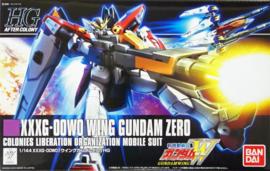 Gundam Model Kit HG 1/144 Gundam XXXG-00W0 Wing Gundam Zero - Bandai [Nieuw]