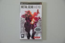 PSP Metal Gear AC!D