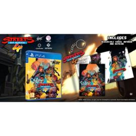 PS4 Streets of Rage 4 (Includes Artbook and Keyring) [Pre-Order]