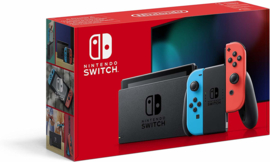 Nintendo Switch Console Neon Blue & Red 2019 Upgrade [Nieuw]