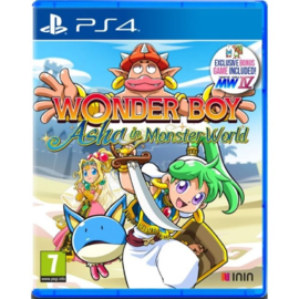 Ps4 Wonder Boy Asha in Monster World [Pre-Order]