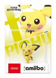 Amiibo Pichu Pokemon - Super Smash Bros [Nieuw]