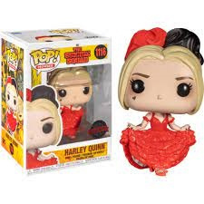 The Suicide Squad Funko Pop Harley Quinn in Dress Special Edition #1116 [Nieuw]