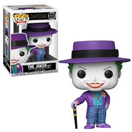 DC Comics Batman Forever Funko Pop - Joker With Hat #337 [Nieuw]