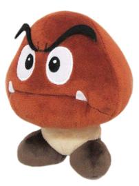 Nintendo Pluche Super Mario Bros Goomba - Little Buddy Toys [Nieuw]