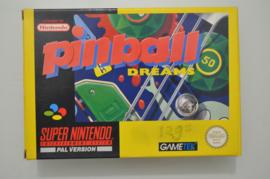 SNES Pinball Dreams [Compleet]