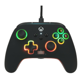 Xbox Controller Wired - Spectra Infinity (Series X & S - Xbox One) - Power A [Nieuw]