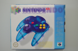 N64 Controller Clear Blue [Compleet]