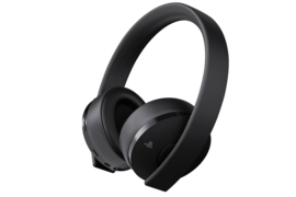Sony Wireless Stereo Gold Headset (Black) [Nieuw]