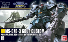 Gundam Model Kit HG 1/144 MS-07B-3 Gouf Custom - Bandai [Nieuw]