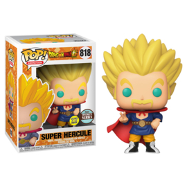 Dragonball Super Funko Pop - Super Hercule Glow In The Dark #818 [Nieuw]