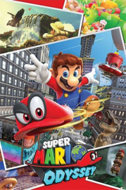 Nintendo Poster Super Mario Odyssey (61x91cm) - Pyramid International