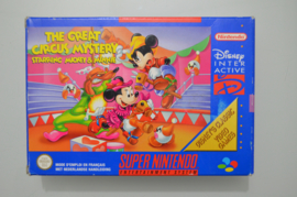 SNES The Great Circus Mystery Starring Mickey & Minnie [Compleet]