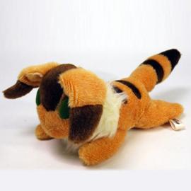 Laputa Castle In The Sky Pluche Teto Fox Squirrel Fluffy Beanbag 23cm - Studio Ghibli [Nieuw]