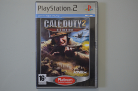 Ps2 Call of Duty 2 Big Red One (Platinum)