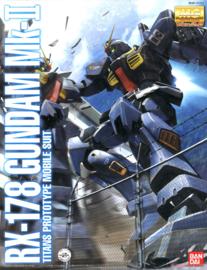Gundam Model Kit MG 1/100 RX-178 MK-II Ver. 2.0 Titans - Bandai [Nieuw]