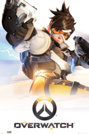 Overwatch Poster Tracer Key Art (61x91cm) - Pyramid International
