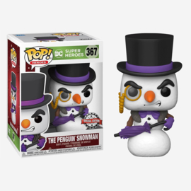 DC Super Heroes Pop - Penguin Snowman Holiday Exclusive #367 [Nieuw]