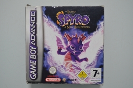 GBA The Legend of Spyro A New Beginning  [Compleet]