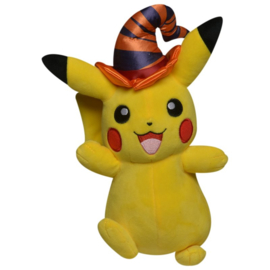 Pokemon Pluche Pikachu Halloween Series Witch Hat - Wicked Cool Toys [Nieuw]