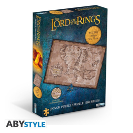 The Lord Of The Rings Puzzle Middle Earth (1000 stukjes) - ABYStyle [Nieuw]