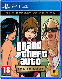 Ps4 Grand Theft Auto Trilogy The Definitive Edition (GTA Trilogy) [Pre-Order]