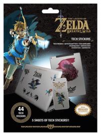 The Legend of Zelda Breath of the Wild Tech Stickers - Pyramid International