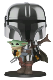 Star Wars Funko Pop Mandalorian With The Child [Pre-Order]