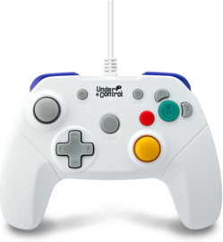 Gamecube Controller Wit - Under Control [Nieuw]