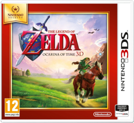 3DS The Legend of Zelda Ocarina of Time 3D (Nintendo Selects) [Nieuw]