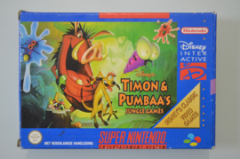SNES Disney's Timon & Pumbaa's Jungle Games [Compleet]