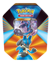Pokemon TCG Lucario V Forces Tin - The Pokemon Company [Pre-Order]