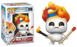 Ghostbusters Afterlife Funko Pop Mini Puft On Fire #936 [Pre-Order]