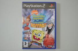 Ps2 SpongeBob SquarePants en zijn Vrienden Samen staan ze Sterk