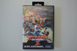 Mega Drive Streets of Rage II [Compleet]