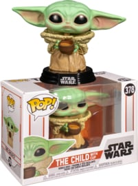 Star Wars The Mandalorian Funko Pop The Child With Cup (Baby Yoda) #378 [Nieuw]