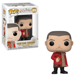 Harry Potter Funko Pop - Victor Krum Yule #089 [Nieuw]