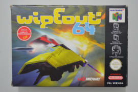 N64 Wipeout 64 [Compleet]